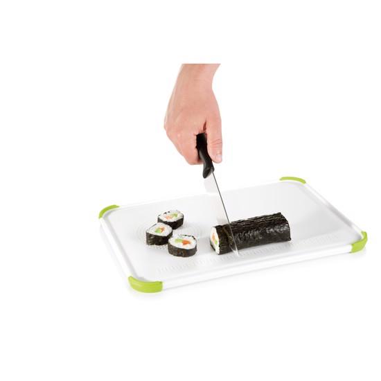 Skærebræt der ikke optager lugt og smag, 26 x 16 cm.