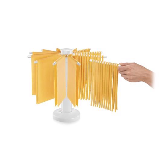Pasta stativ med 12 arme - til tørring af hjemmelavet pasta