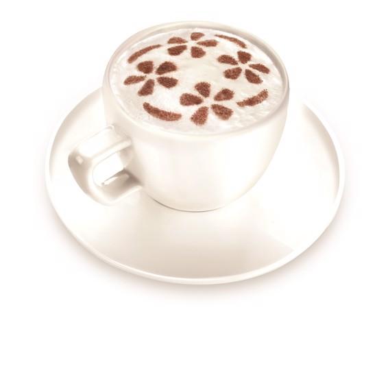 Dekoration til cappuccino og cacao